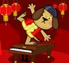 Pianist Dog
