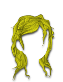 Female Hair #10 Yellow