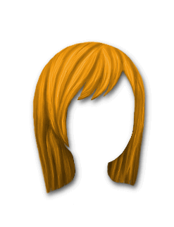 Female Hair #2 Orange
