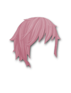 Female Hair #3 Pink
