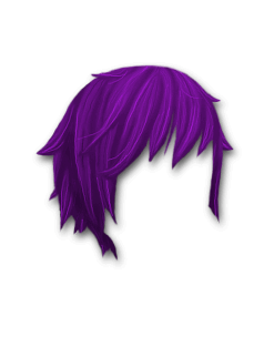 Female Hair #3 Purple