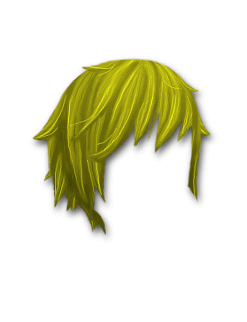 Female Hair #3 Yellow
