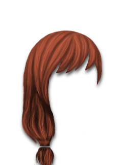 Female Hair #6 Copper Red