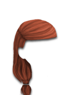 Female Hair #7 Copper Red