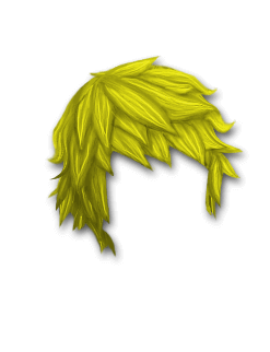 Female Hair #8 Yellow