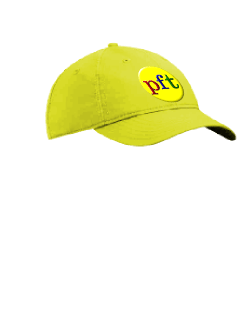 Female Logo Cap Yellow