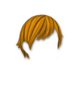 Male Hair #1 Orange