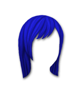 Male Hair #2 Blue