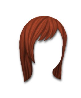 Male Hair #2 Copper Red
