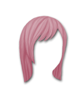 Male Hair #2 Fushia