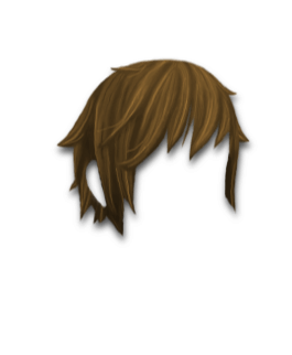Male Hair #3 Ashbrown