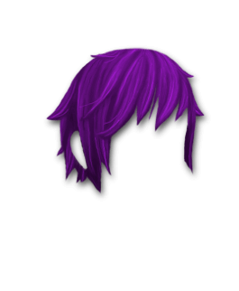 Male Hair #3 Purple