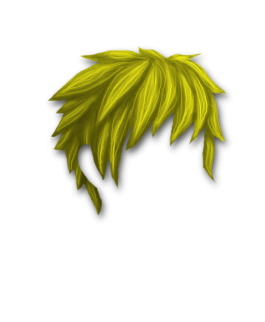 Male Hair #4 Yellow