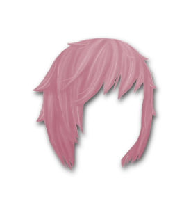 Male Hair #5 Fushia