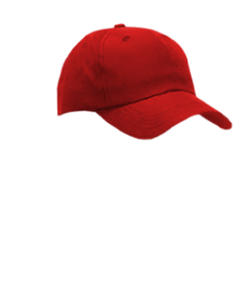 Male Hat #6 Red