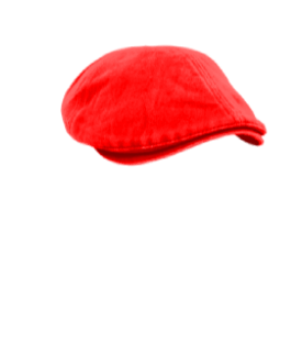 Male Hat #7 Red