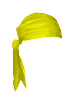 Male Bandanna Yellow